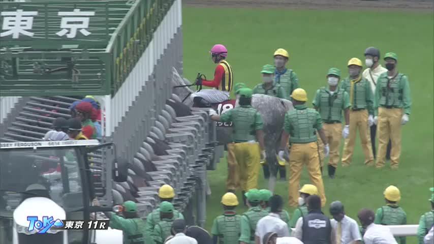 府中牝馬S レース映像
